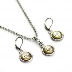 Set náhrdelník a naušnice S&B .38