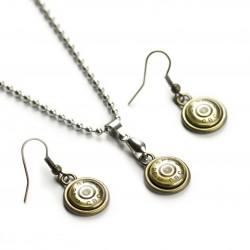 Set náhrdelník a naušnice CBC .38