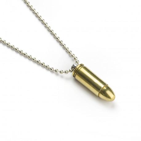 Náhrdelník náboj 9mm